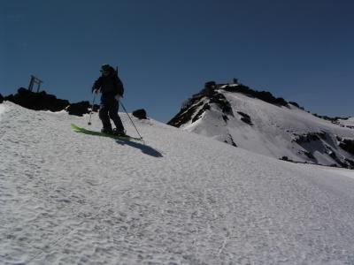 富士山 山岳スキー