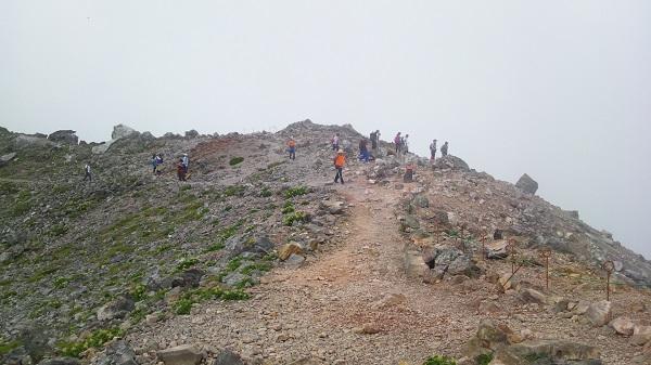 リハビリ登山の第2弾:那須連峰 茶臼岳