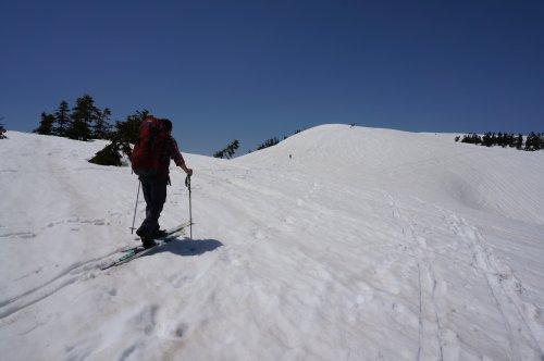 会津駒ヶ岳 山岳スキー